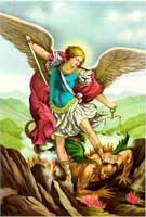 arcángel san miguel cruzada oación