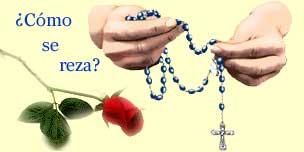 Resultado de imagen para como rezar el santo rosario